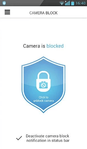 Camera Block Guard On