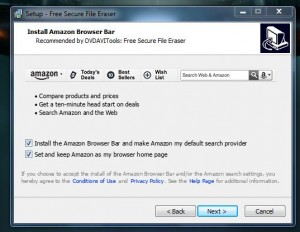 Free Secure File Eraser install warning