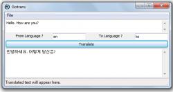 Gotrans Text Translator