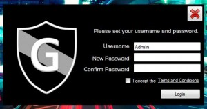 Granite Portable username and pass setup