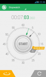Hybrid Stopwatch App for Android