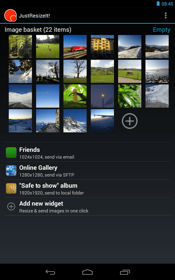 JustResizeIt for Android
