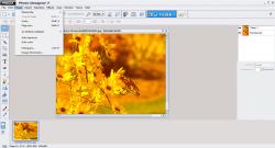 Magix Photo Designer 7 Image Options