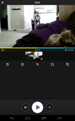 Mixbit editing screen