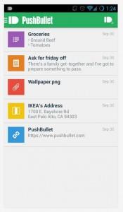 PushBullet UI
