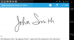 SignEasy Digital Signature
