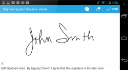 SignEasy Digital Signature