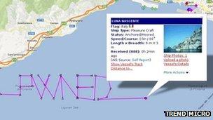 boats tracked story