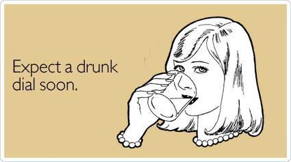 drunk-dial