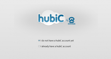 hubiC for desktop