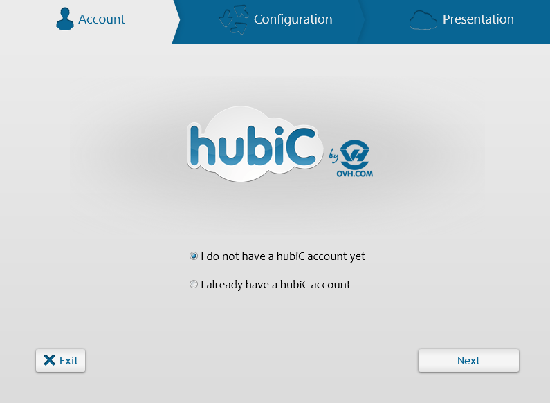 hubiC for desktop