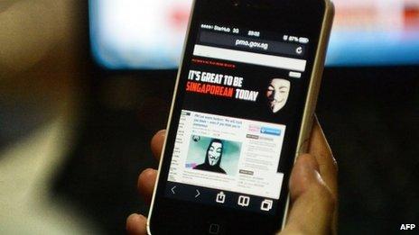 Anonymous Singapore