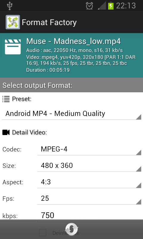 Format Factory for Android