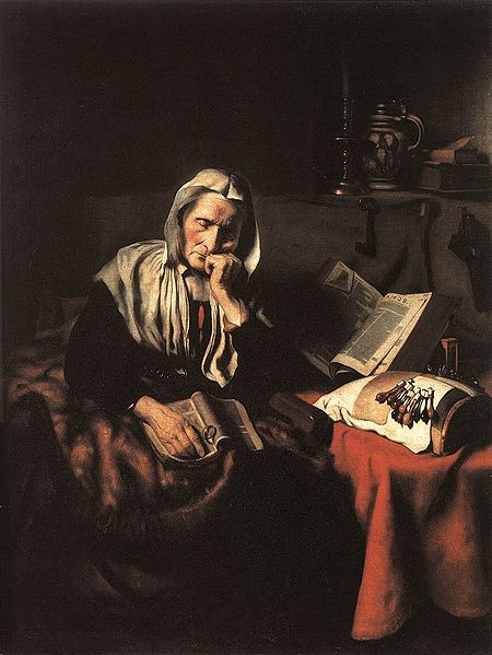 Maes_Old_Woman_Dozing