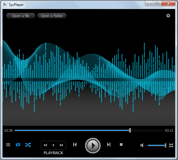 SysPlayer for Windows