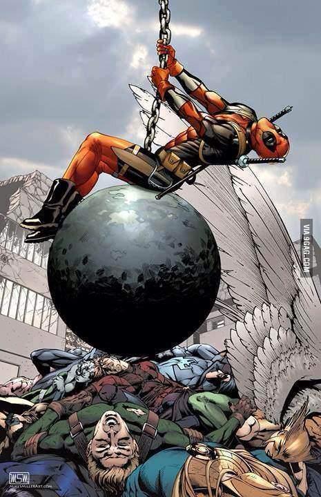deadpool wrecking ball