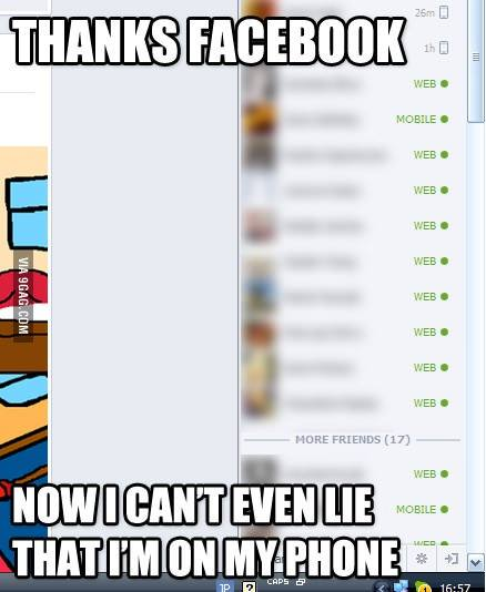 facebook attached