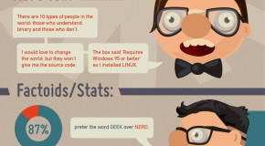 Geeks vs Nerds, which are you? [Infographic]