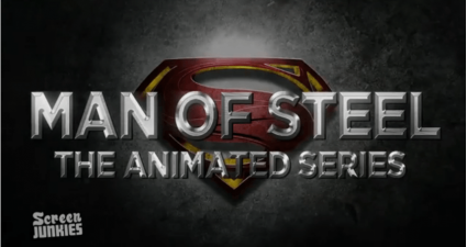 man of steel anime