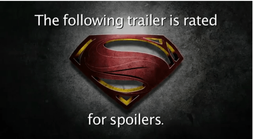 man of steel honest trailer