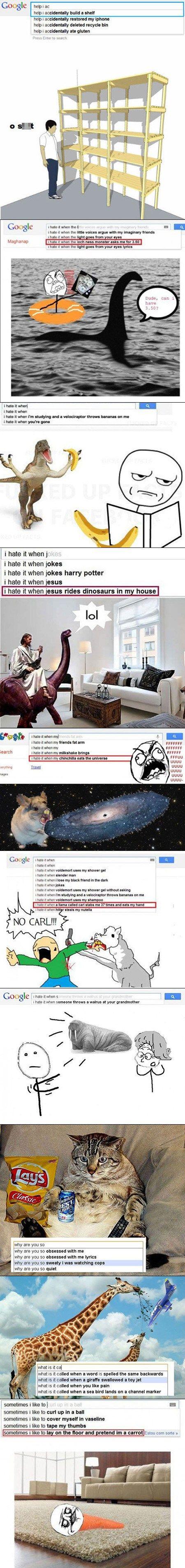 weird google searches