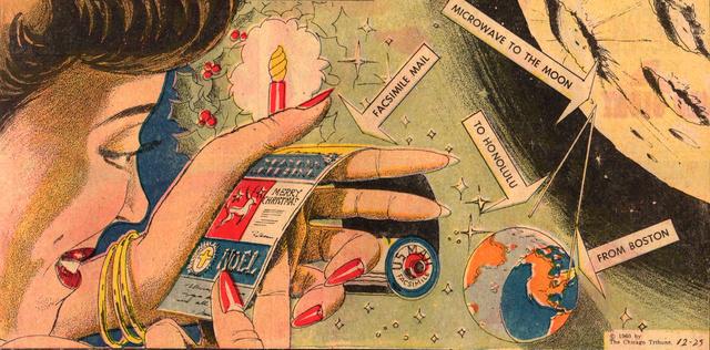 1960s e-card