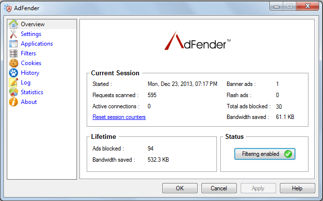 AdFender Ad Blocker