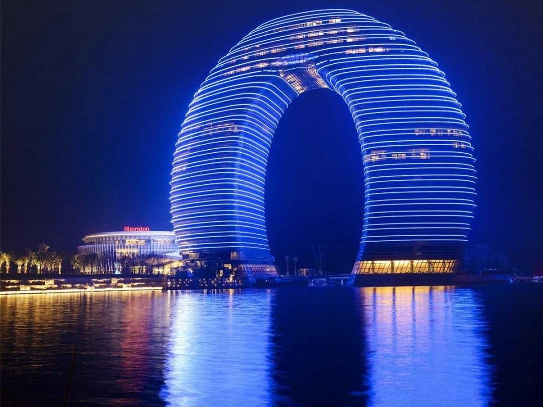 Beautiful-Image-of-The-Sheraton-Hotel-in-Huzhou-China