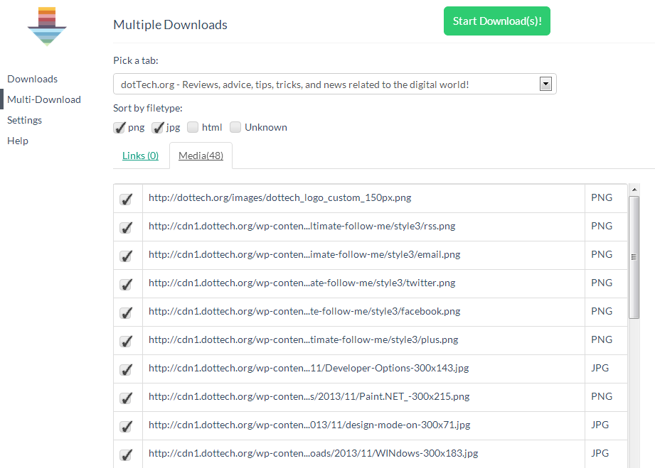 Fruumo Download Manager for Chrome