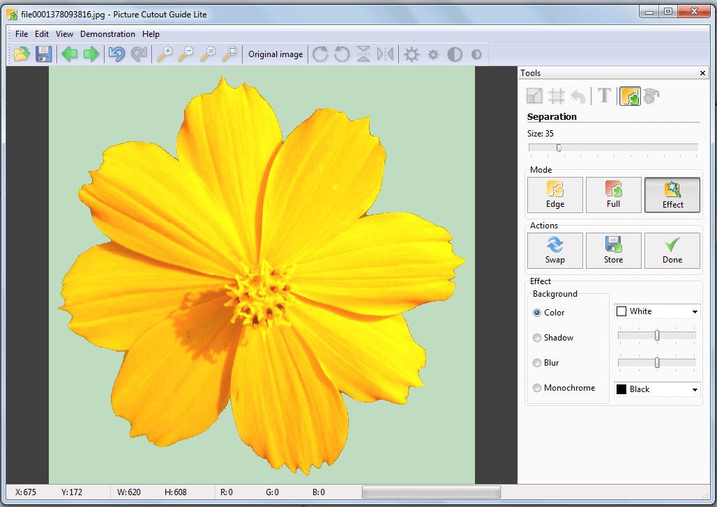 Picture Cutout Guide Lite for Windows
