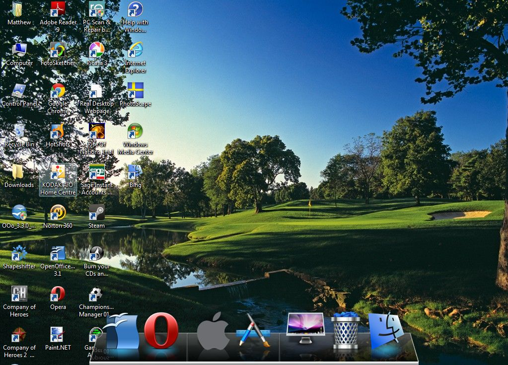 XWindows dock 3