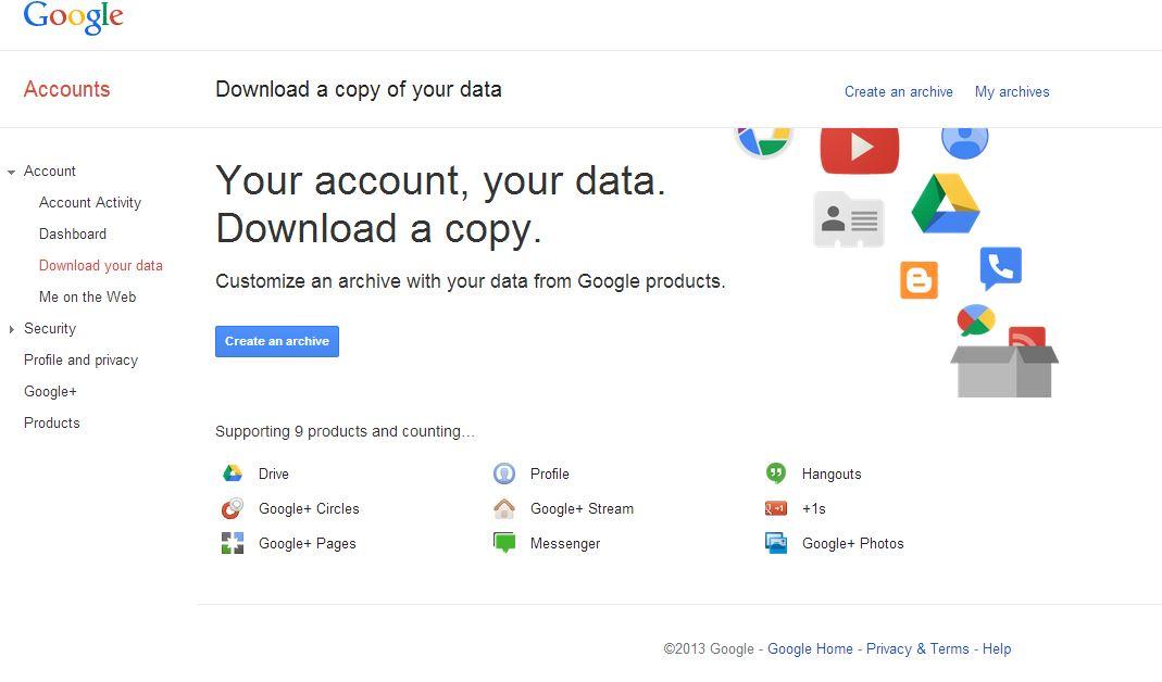 google_takeout