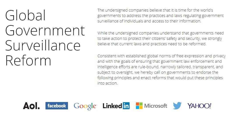 reform government surveillance