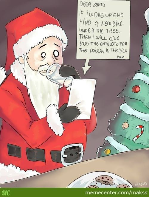 santa poisoned