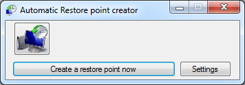 Automatic System Restore Point Creator