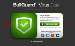 BullGuard Virus Scan