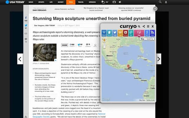 Curiyo for Chrome