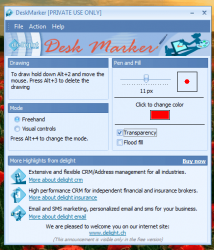 DeskMarker for Windows