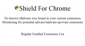 ExtShield for Chrome