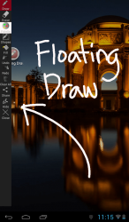 Floating Draw Toolbar
