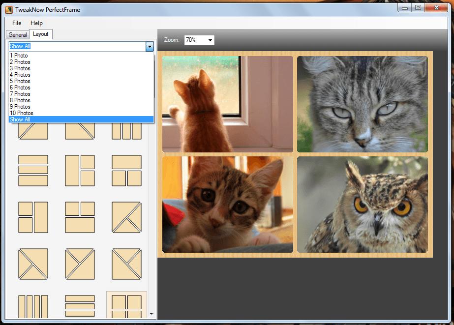 TweakNow PerfectFrame for Windows
