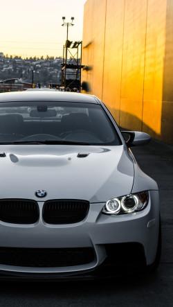 White-BMW-M3-E92-Front-250x443