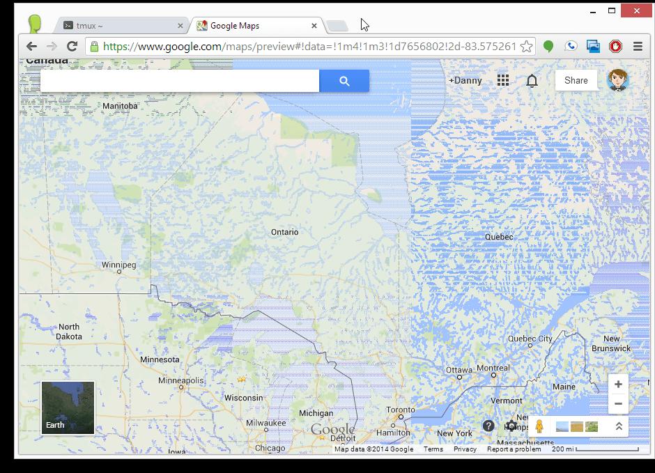 canada google maps