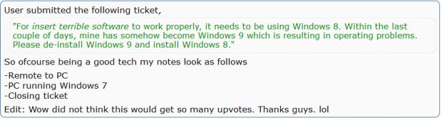 downgrade from windows 9