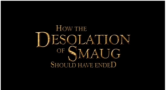 how smaug shoul have ended