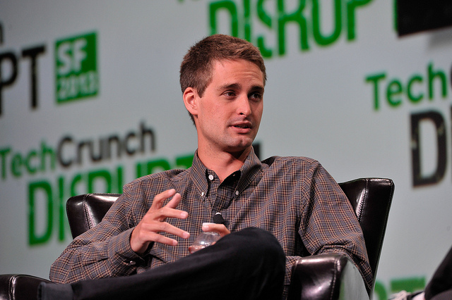 snap chat founder