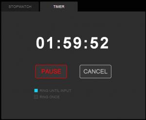 123 Stopwatch Timer