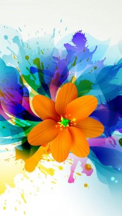 Colorful-Splash-Painting-Flowers-250x443