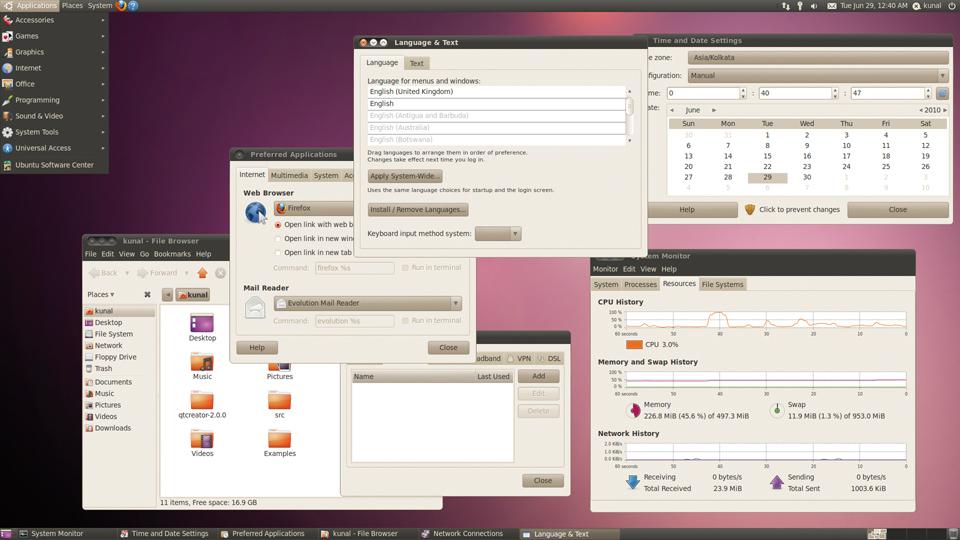 Ubuntu Gnome