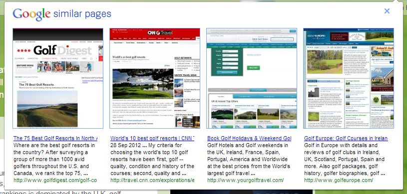 Google Silmilar Pages 3